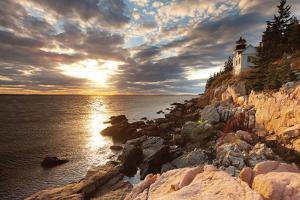 Bass Harbor Lighthouse by Michael Hudson