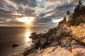 Bass Harbor Lighthouse by Michael Hudson