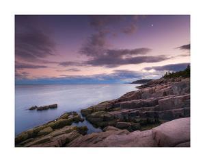 Dusk Along the Maine Coast by Michael Hudson