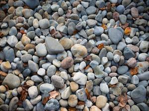 Pebbles, Little Hunters Beach by Michael Hudson
