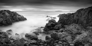 Rocky Coastline by Michael Hudson