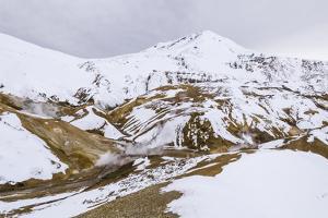 Hveradalir Geothermal Area, Iceland, Polar Regions by Michael