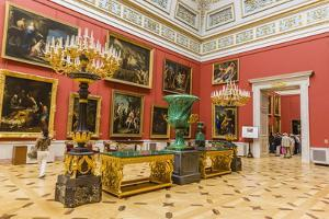Interior View of the Winter Palace by Michael