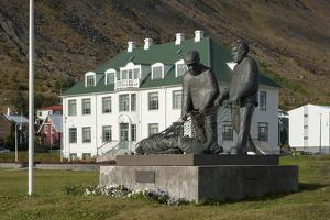 Isafjordur, West Fjords, Iceland, Polar Regions by Michael