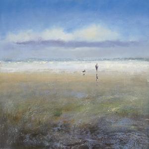 Beachside Stroll by Michael J. Sanders