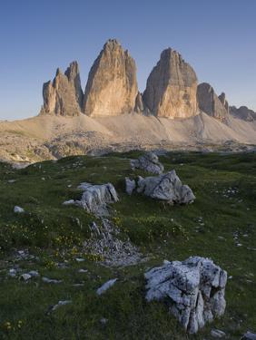Tre Cime di Lavaredo, Sexten Dolomites nature reserve, Italy by Michael Jaeschke