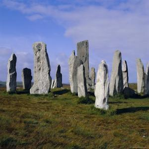 Callanish Standing Stones, Lewis, Outer Hebrides, Scotland, UK, Europe by Michael Jenner