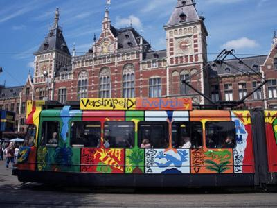 Central Station and Tram Terminus, Amsterdam, Holland
