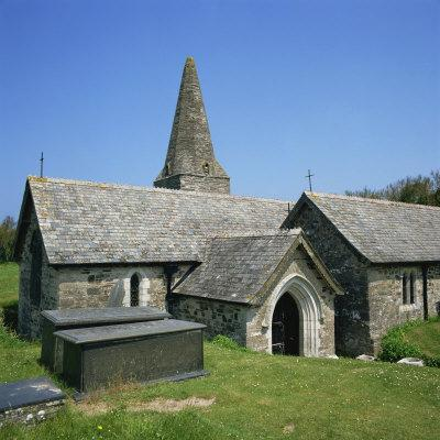 Church of St. Enodor, Rock, Cornwall, England, United Kingdom, Europe