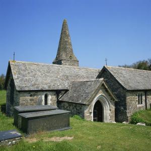 Church of St. Enodor, Rock, Cornwall, England, United Kingdom, Europe by Michael Jenner