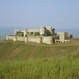 Crusader Castle, Krak Des Chevaliers, Syria by Michael Jenner