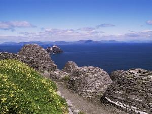 Early Christian Settlement, Skellig Michael, Unesco World Heritage Site, Munster by Michael Jenner