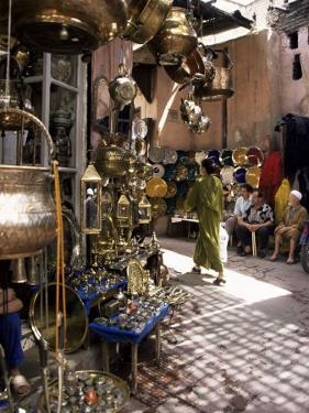 Handicraft Souk, Marrakech, Morocco, North Africa, Africa by Michael Jenner