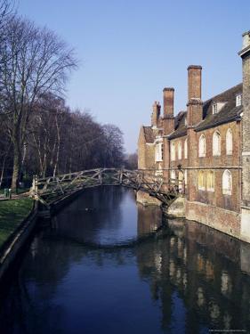 Mathematical Bridge, Queens' College, Cambridge, Cambridgeshire, England, United Kingdom by Michael Jenner