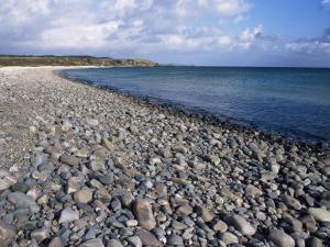 Pebble Beach Near Kildalton, Isle of Islay, Strathclyde, Scotland, United Kingdom by Michael Jenner
