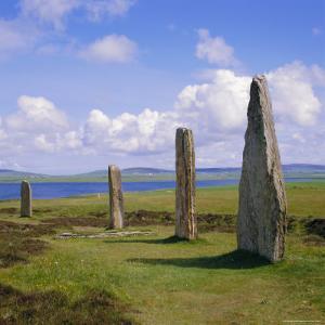 Ring of Brodgar (Brogar), Mainland, Orkney Islands, Scotland, UK,Europe by Michael Jenner
