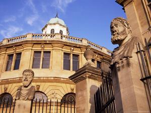 Sheldonian Theatre, Oxford, Oxfordshire, England, United Kingdom by Michael Jenner