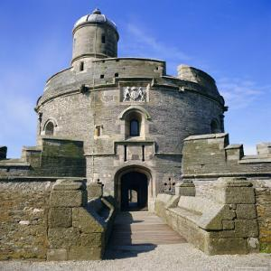 St. Mawes Castle, Built by King Henry VIII, Cornwall, England, UK by Michael Jenner
