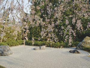 Taizo, Stone Garden in Temple, Kyoto, Japan, Asia by Michael Jenner