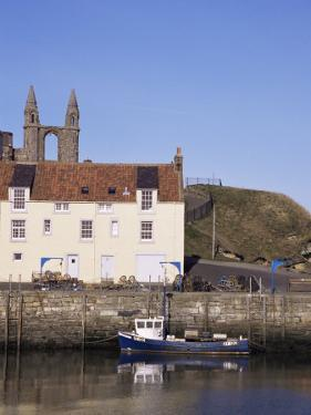 The Harbour, St. Andrews, Fife, Scotland, United Kingdom by Michael Jenner