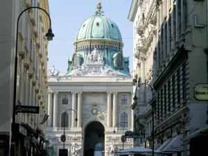 The Hofburg Viewed from Kohl Markt, Vienna, Austria by Michael Jenner