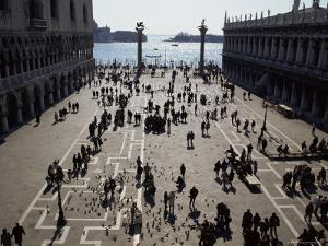 The Piazzetta, Venice, Veneto, Italy by Michael Jenner