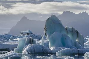 Jokulsarlon Glacier Lagoon, Iceland, Polar Regions by Michael
