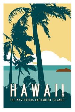 Hawaii Travel Poster by Michael Jon Watt