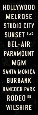 Hollywood Transit Sign by Michael Jon Watt
