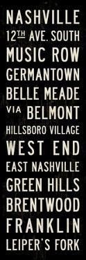 Nashville Transit Sign by Michael Jon Watt