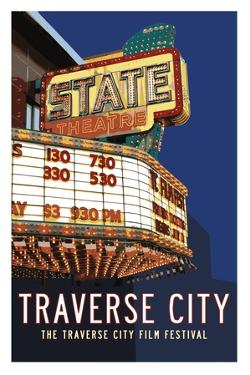 State Theater Poster by Michael Jon Watt