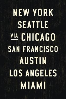 US Cities by Michael Jon Watt