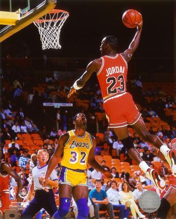Michael Jordan Action
