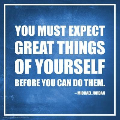 Michael Jordan- Expect Great Things