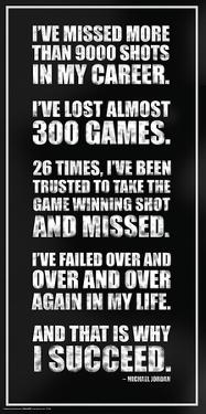 Michael Jordan - Success Quote