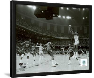 Michael Jordan winning basket in the NCU 1982 NCAA Finals against Georgetown