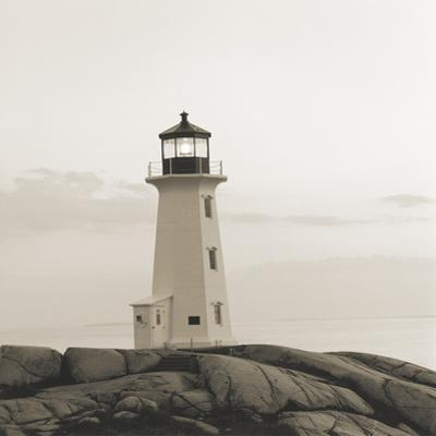 Peggy's Cove Light by Michael Kahn