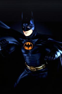 "MICHAEL KEATON. ""BATMAN RETURNS"" [1992], directed by TIM BURTON."