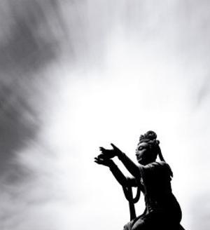 Buddha Offering, Lantou Island,Hong Kong by Michael Kenna
