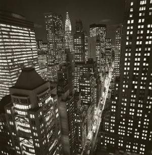 East 40th Street, New York, 2006 by Michael Kenna