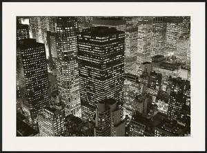 Mary Poppins over Midtown, New York, 2006 by Michael Kenna