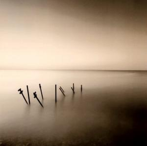 Pier Support by Michael Kenna