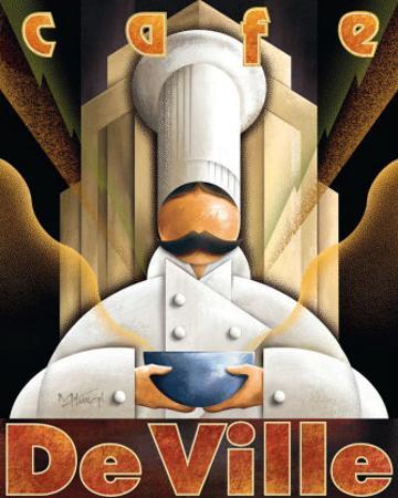 Cafe de Ville by Michael L. Kungl
