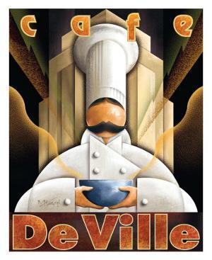 Cafe de Ville by Michael L^ Kungl