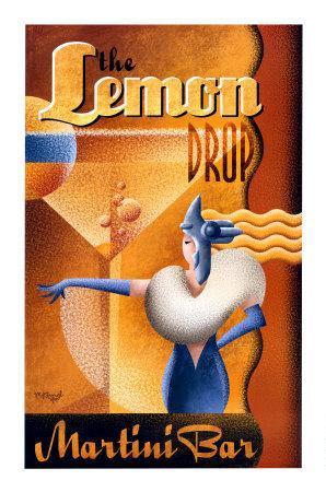 The Lemon Drop Martini Bar
