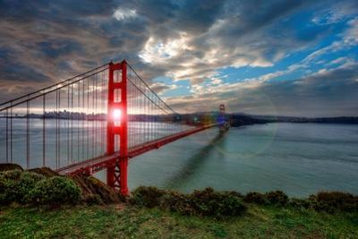 Sun through Golden Gate by Michael Lawenko Dela Paz