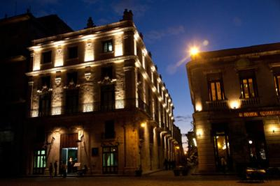 Hotels and Restaurants Surround the Plaza San Francisco De Asis by Michael Lewis
