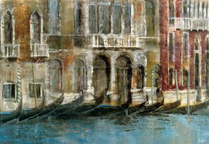 Canal Facades by Michael Longo