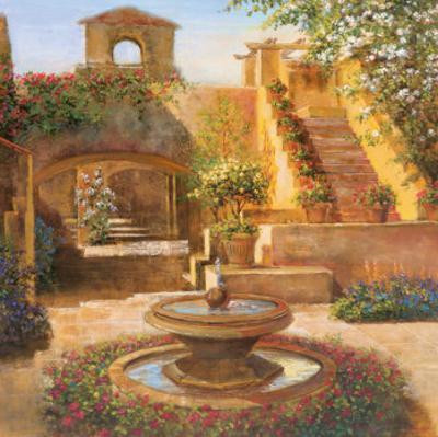 Courtyard Terrace by Michael Longo