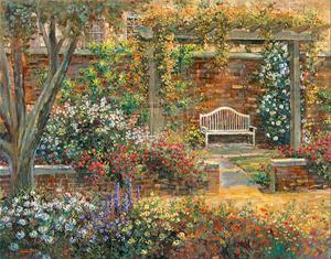 Patio Gardens II by Michael Longo